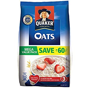 Quaker Oats Pouch, 2 kg 14 51dBZB9UJJL. SS300