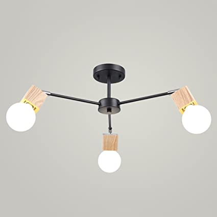 LED lámpara de techo de iluminación Lámpara decorativa E27 ...