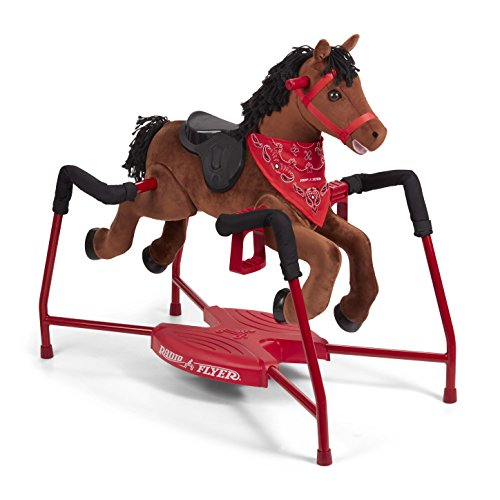 Radio Flyer Chestnut Plush Interactive Riding Horse ()