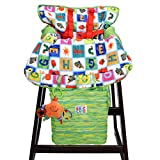Eric Carle Alphabet Shopping Cart Cover