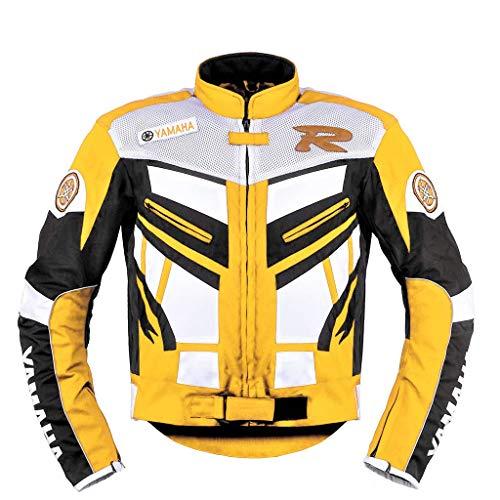 Chaqueta Textil para Moto Yamaha Racing Amarilla (XL)
