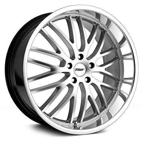 TSW Snetterton Custom Wheel Hyper - Silver with Mirror Cut Lip 17