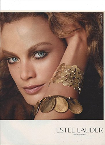 **PRINT AD** With Carolyn Murphy For Estee Lauder Ideal Matte **PRINT AD** - Estee Lauder Ideal Matte