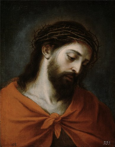 Oil Painting 'Murillo Bartolome Esteban Ecce Homo 1660 70', 18 x 23 inch / 46 x 59 cm , on High Definition HD canvas prints is for Gifts And Gym, Home Office And Nursery Decoration, diy