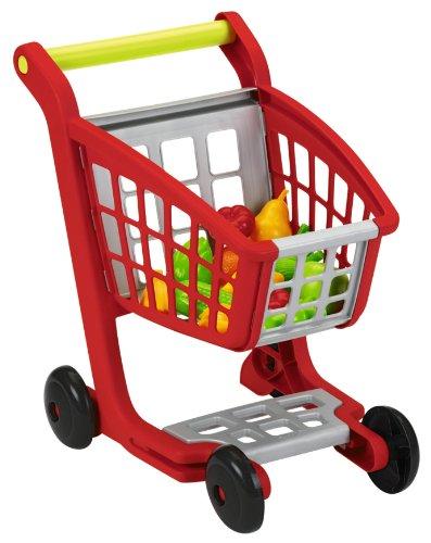 Ecoiffier 1225 - Einkaufswagen mit Spielobst und Spielgemüse