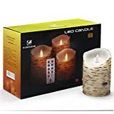Comenzar Flameless Candles, Led Candles Set of 9