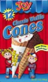 Joy Cone Waffle Jacketed Classic Cone, 12-Count (Pack of 6)