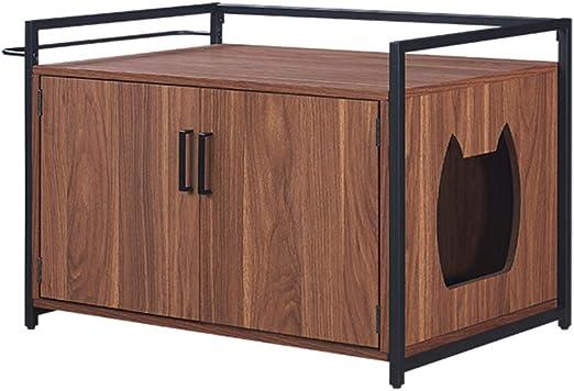 Unipaws - Caja de arena para gatos con privacidad para gatos, caja ...