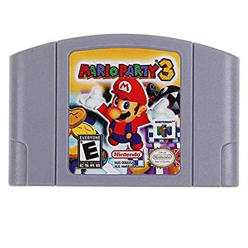Mario Party 3 Game Card For Nintendo N64 - US Version (Mario 64 Super 3 Party)