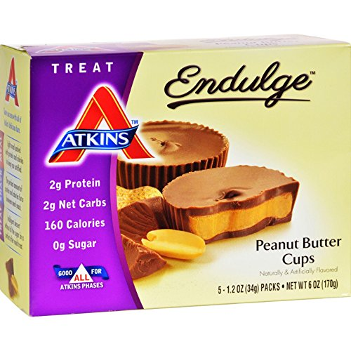 Cheap Atkins Endulge Peanut Butter Cup, 5 Count, 1.2 Ounce Each (3-pack)