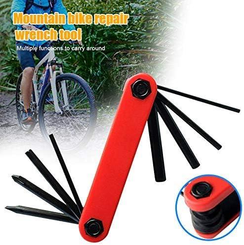 Lanbowo Bicicleta de Montaña Herramienta Reparación Llave Hexagonal Juego Multiusos Ciclismo Carretera Multi Kit Conector Cabeza: Amazon.es: Hogar