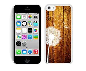 Cheap Dandelion Designer Iphone 5c Case White Cover Best Gift Cell Phone Accessories