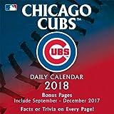 Chicago Cubs 2018 Daily Desk Calendar