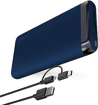 Omars 10000mAh USB C Portable Power Bank