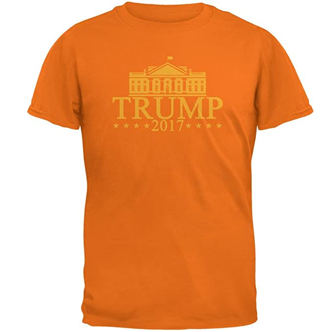 defae09a94 Image Unavailable. Image not available for. Color  Old Glory Trump Orange  White House Funny Mens T Shirt ...