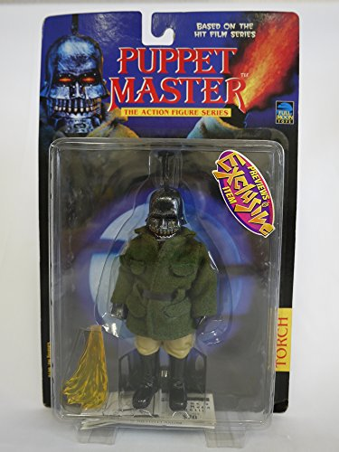 Puppet Master Torch Action Figure Khaki - Puppet Master Torch