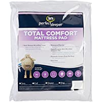 Serta Total Comfort Queen Size Mattress Pad One Size White