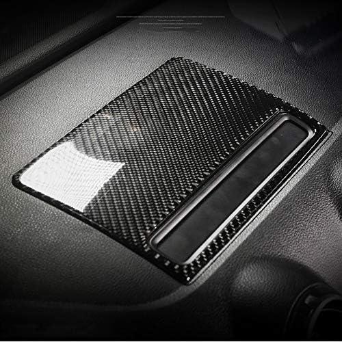 Hdcf Car Interior Carbon Zentrale Steuerung Navigationsbildschirm Dekor Aufkleber Abdeckung Auto Styling Für A3 S3 2014 2018 Zubehör Auto