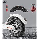 ELKATECH-Ruota-piena-Xiaomi-M365-Pro-Pneumatico-pieno-M365PRO-con-mozzo-e-disco-freno-per-monopattino-elettrico-Increable-grazie-al-Solid-Tire-Accessorio-compatibile-con-Mijia-M365-Pro