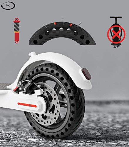 ELKATECH | Ruota piena Xiaomi M365 Pro | Pneumatico pieno M365PRO con mozzo e disco freno per monopattino elettrico | Increable grazie al Solid Tire | Accessorio compatibile con Mijia M365 Pro 6 spesavip