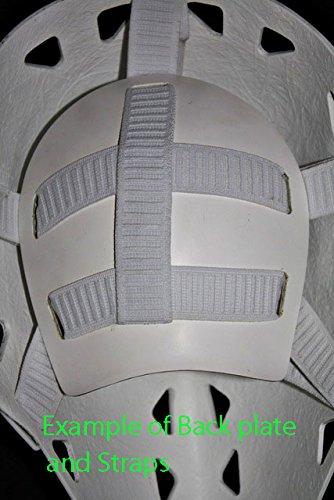 1:1 Custom Vintage Fiberglass Roller Ice Hockey Goalie Mask Keeper Helmet Jacques Plante HO33