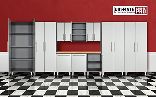 Ulti-MATE Pro Garage Cabinet GA-1100-02KPC 11 Piece Super Garage System