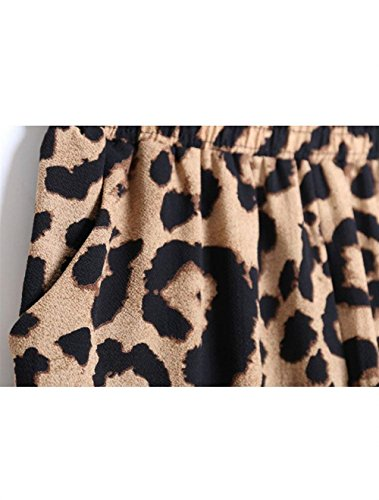 Harem Semplice Fashion Baggy Elastico Vintage Donna Glamorous Pantaloni 7 Estivi Lunghi High Eleganti Colour Haidean Libero Pluderhose Tempo Fiore Hippie Waist Stampa Pantalone Iv5qPvwz