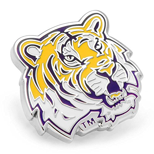 NCAA LSU Tigers Lapel Pin, Officially (Lsu Tigers Pins)