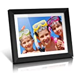 Aluratek ADMPF315F 15-Inch Hi-Res Digital Photo Frame with 256MB Internal Memory (Black) (Discontinued by Manufacturer)