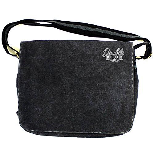Store Shoulder Vintage Arcane Cotton Black Man Bag Hdaw4vnq