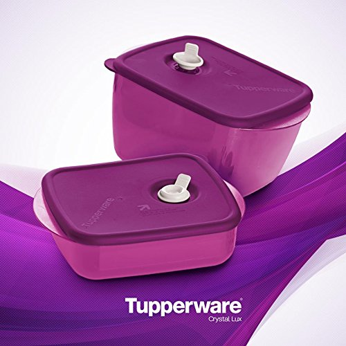 Tupperware Vent N Serve - Recipiente para microondas: Amazon ...