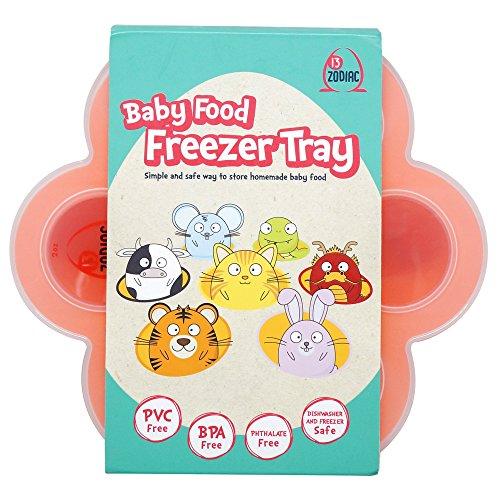 Little Zodiac Baby Food Silicone Freezer Tray