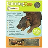 Thundershirt TH00154 Large Dog Anxiety Treatment Calming Cap, Blue