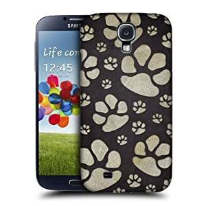 Random Paw Design Snap-on Back Case Cover For Samsung Galaxy S4 I9500