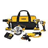 Best Power Tool Combo Kits - DEWALT DCK521D2 20V MAX Compact 5-Tool Combo Kit Review