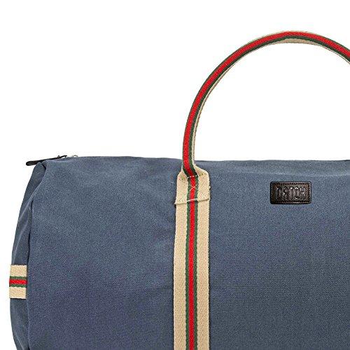 Datch - Handtasche, Hermes, Blau, stoff - BSHH55301