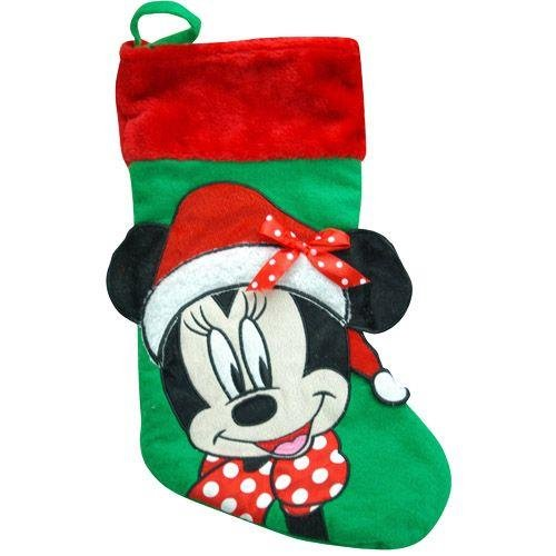 Disney Minnie Mouse 18 Inch Big Face Christmas Stocking