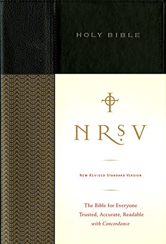 NRSV Standard Bible (black) (Column Four Single)