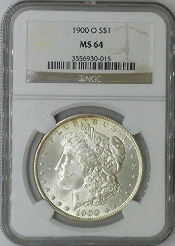 1900 O Morgan $1 MS64 NGC Silver Dollar Old US Coin 90% Silver