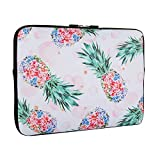Pineapple Laptop Sleeve Bag 13.3 Inch, Water Repellent Neoprene Light Weight Computer Skin Bag, Notebook Carrying Case Cover Bags