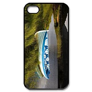 YCHZH Phone case Of Flood Boat Cover Case For Iphone 4/4s