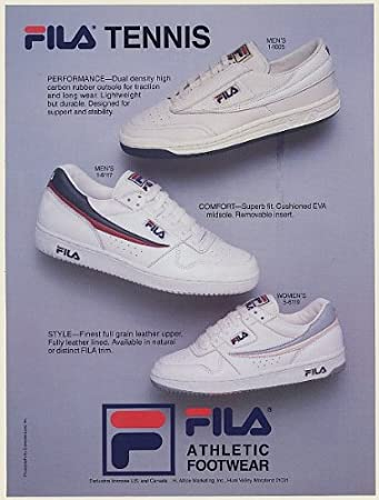 fila shoes advertisement app