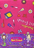 66' x 54' Jacqueline Wilson Best Friends Curtains With Matching Tie Backs
