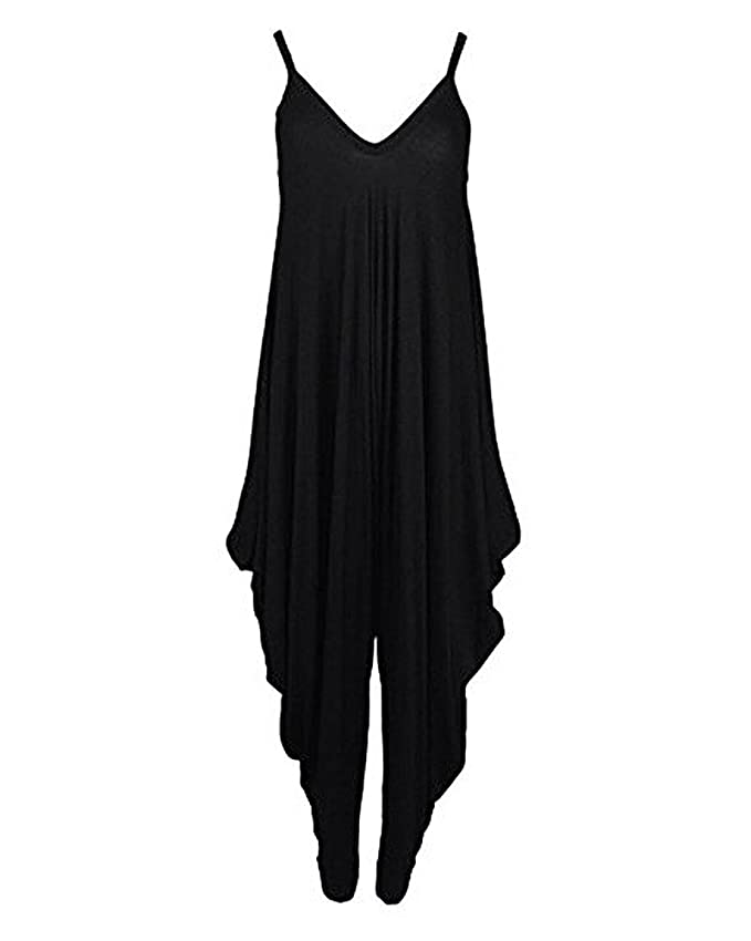 10 opinioni per SaiDeng Tuta Harem Pantaloni Donna Elegante Estiva Baggy Strappy Pantaloncini