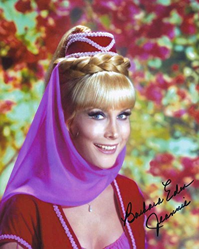 Barbara Eden in-person autographed photo I Dream of Jeannie from Sign Here Autographs