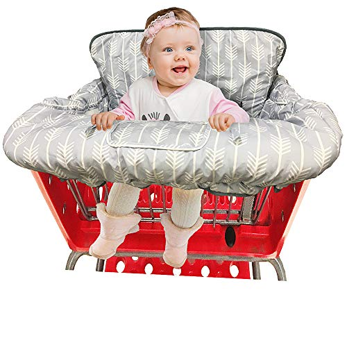 Find Bargain Shopping Cart Cover High Chair Cover for Baby and Toddler-Waterproof-Universal fit-Reve...