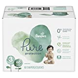 #9: Pampers Pure Protection Disposable Diapers, Size 3, 60 Count