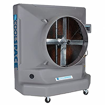 COOL-SPACE CS6-36-1D One Speed Portable Evaporative Cooler, 36-Inch