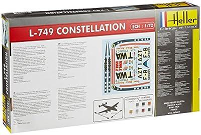 1:72 Heller L-749 Constellation Air France Aircraft Model Kit