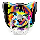 Pop Phone Ring Stand Holder 360°Rotation Reusable Ring Holder Finger Grip Universal socket Kickstand for All Cellphones Colorful cats